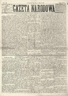 Gazeta Narodowa. R. 16 (1877), nr 12 (17 stycznia)