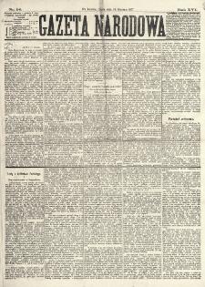 Gazeta Narodowa. R. 16 (1877), nr 14 (19 stycznia)