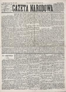 Dodatek do : Gazeta Narodowa. R. 16 (1877), nr 17-18 (24 stycznia)