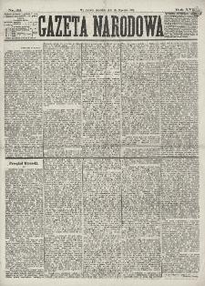 Gazeta Narodowa. R. 16 (1877), nr 22 (28 stycznia)