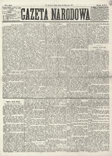Gazeta Narodowa. R. 16 (1877), nr 24 (31 stycznia)