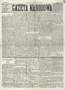 Gazeta Narodowa. R. 16 (1877), nr 29 (7 lutego)