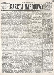 Gazeta Narodowa. R. 16 (1877), nr 32 (10 lutego)