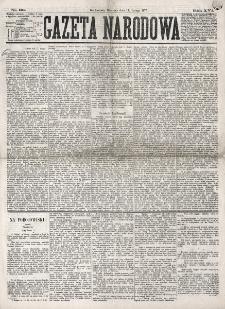 Gazeta Narodowa. R. 16 (1877), nr 33 (11 lutego)