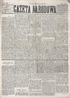 Gazeta Narodowa. R. 16 (1877), nr 34 (13 lutego)