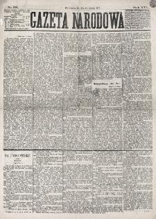 Gazeta Narodowa. R. 16 (1877), nr 35 (14 lutego)