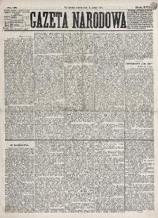 Gazeta Narodowa. R. 16 (1877), nr 38 (17 lutego)