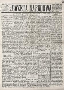 Gazeta Narodowa. R. 16 (1877), nr 39 (18 lutego)