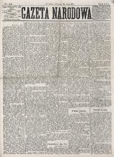 Gazeta Narodowa. R. 16 (1877), nr 44 (24 lutego)