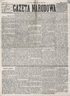 Gazeta Narodowa. R. 16 (1877), nr 45 (25 lutego)