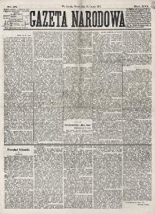 Gazeta Narodowa. R. 16 (1877), nr 46 (27 lutego)