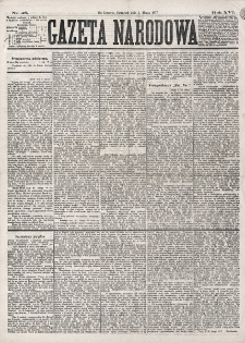 Gazeta Narodowa. R. 16 (1877), nr 48 (1 marca)