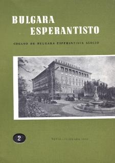 Bulgara Esperantisto.Jaro 30, n. 2 (1961)