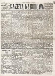 Gazeta Narodowa. R. 16 (1877), nr 57 (11 marca)