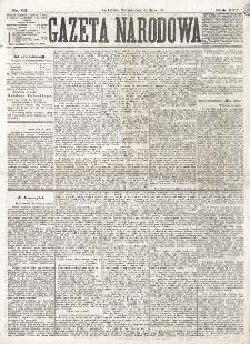 Gazeta Narodowa. R. 16 (1877), nr 63 (18 marca)
