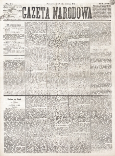 Gazeta Narodowa. R. 16 (1877), nr 64 (20 marca)