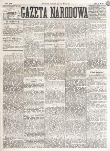 Gazeta Narodowa. R. 16 (1877), nr 66 (22 marca)