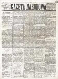 Gazeta Narodowa. R. 16 (1877), nr 68 (24 marca)