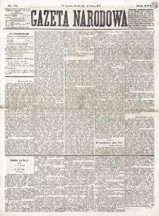 Gazeta Narodowa. R. 16 (1877), nr 70 (27 marca)