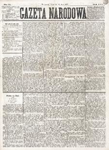 Gazeta Narodowa. R. 16 (1877), nr 73 (30 marca)