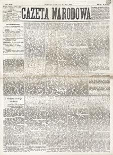 Gazeta Narodowa. R. 16 (1877), nr 74 (31 marca)