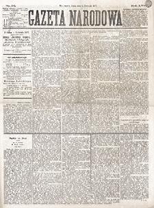 Gazeta Narodowa. R. 16 (1877), nr 76 (4 kwietnia)