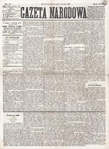 Gazeta Narodowa. R. 16 (1877), nr 77 (5 kwietnia)