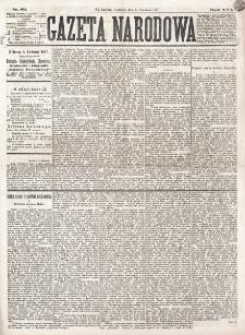 Gazeta Narodowa. R. 16 (1877), nr 80 (8 kwietnia)