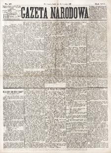 Gazeta Narodowa. R. 16 (1877), nr 82 (11 kwietnia)