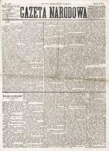 Gazeta Narodowa. R. 16 (1877), nr 83 (12 kwietnia)