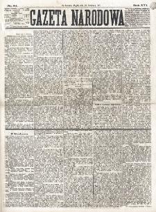 Gazeta Narodowa. R. 16 (1877), nr 84 (13 kwietnia)