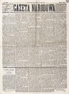 Gazeta Narodowa. R. 16 (1877), nr 85 (14 kwietnia)