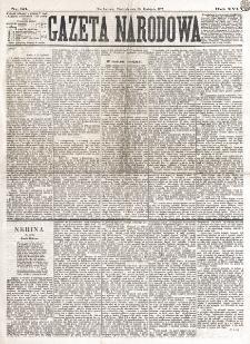 Gazeta Narodowa. R. 16 (1877), nr 86 (15 kwietnia)