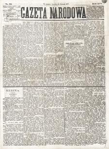 Gazeta Narodowa. R. 16 (1877), nr 88 (18 kwietnia)