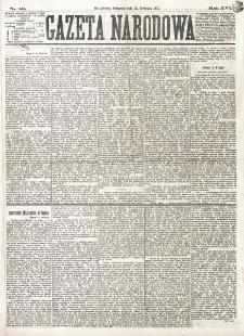 Gazeta Narodowa. R. 16 (1877), nr 89 (19 kwietnia)