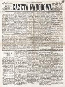 Gazeta Narodowa. R. 16 (1877), nr 94 (25 kwietnia)