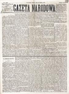 Gazeta Narodowa. R. 16 (1877), nr 95 (26 kwietnia)