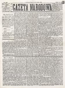 Gazeta Narodowa. R. 16 (1877), nr 96 (27 kwietnia)