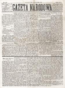 Gazeta Narodowa. R. 16 (1877), nr 97 (28 kwietnia)