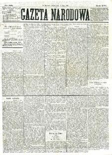 Gazeta Narodowa. R. 16 (1877), nr 108 (12 maja)