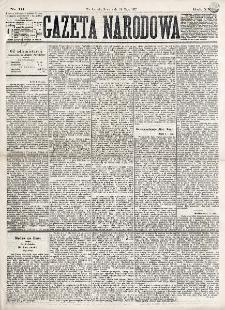 Gazeta Narodowa. R. 16 (1877), nr 111 (16 maja)