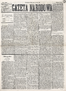 Gazeta Narodowa. R. 16 (1877), nr 113 (18 maja)