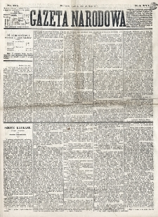 Gazeta Narodowa. R. 16 (1877), nr 115 (20 maja)