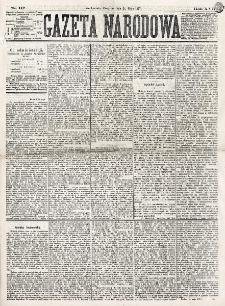 Gazeta Narodowa. R. 16 (1877), nr 117 (24 maja)