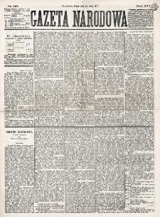 Gazeta Narodowa. R. 16 (1877), nr 118 (25 maja)