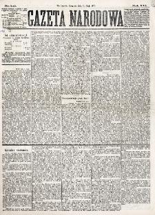 Gazeta Narodowa. R. 16 (1877), nr 123 (31 maja)