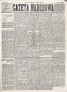 Gazeta Narodowa. R. 16 (1877), nr 124 (2 czerwca)