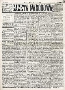 Gazeta Narodowa. R. 16 (1877), nr 125 (3 czerwca)