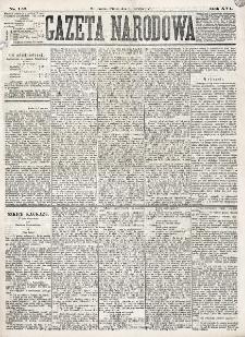 Gazeta Narodowa. R. 16 (1877), nr 126 (5 czerwca)