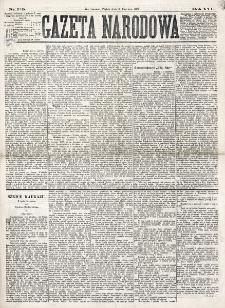 Gazeta Narodowa. R. 16 (1877), nr 129 (8 czerwca)